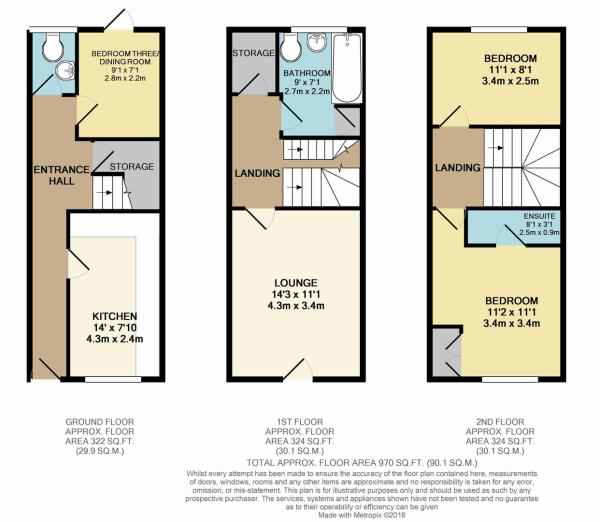 Vale Close, Loughborough, LE11 floor plan