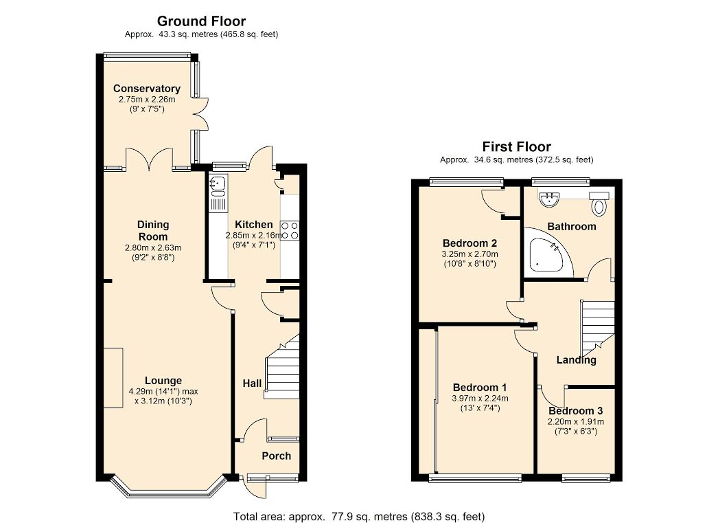 Larkswood Road,  Stanford-le-hope, SS17 floor plan