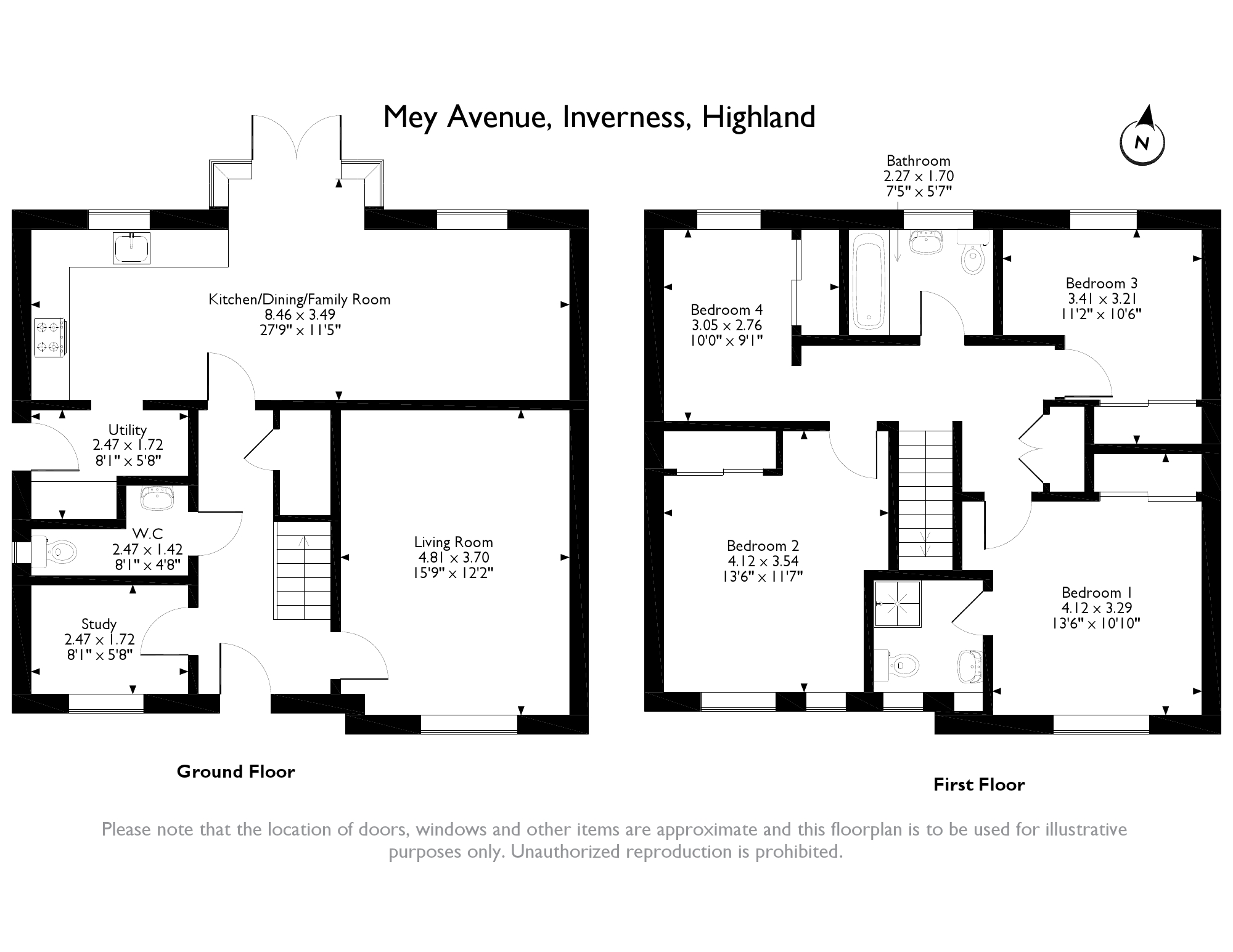 Mey Avenue, Inverness, IV2 floor plan