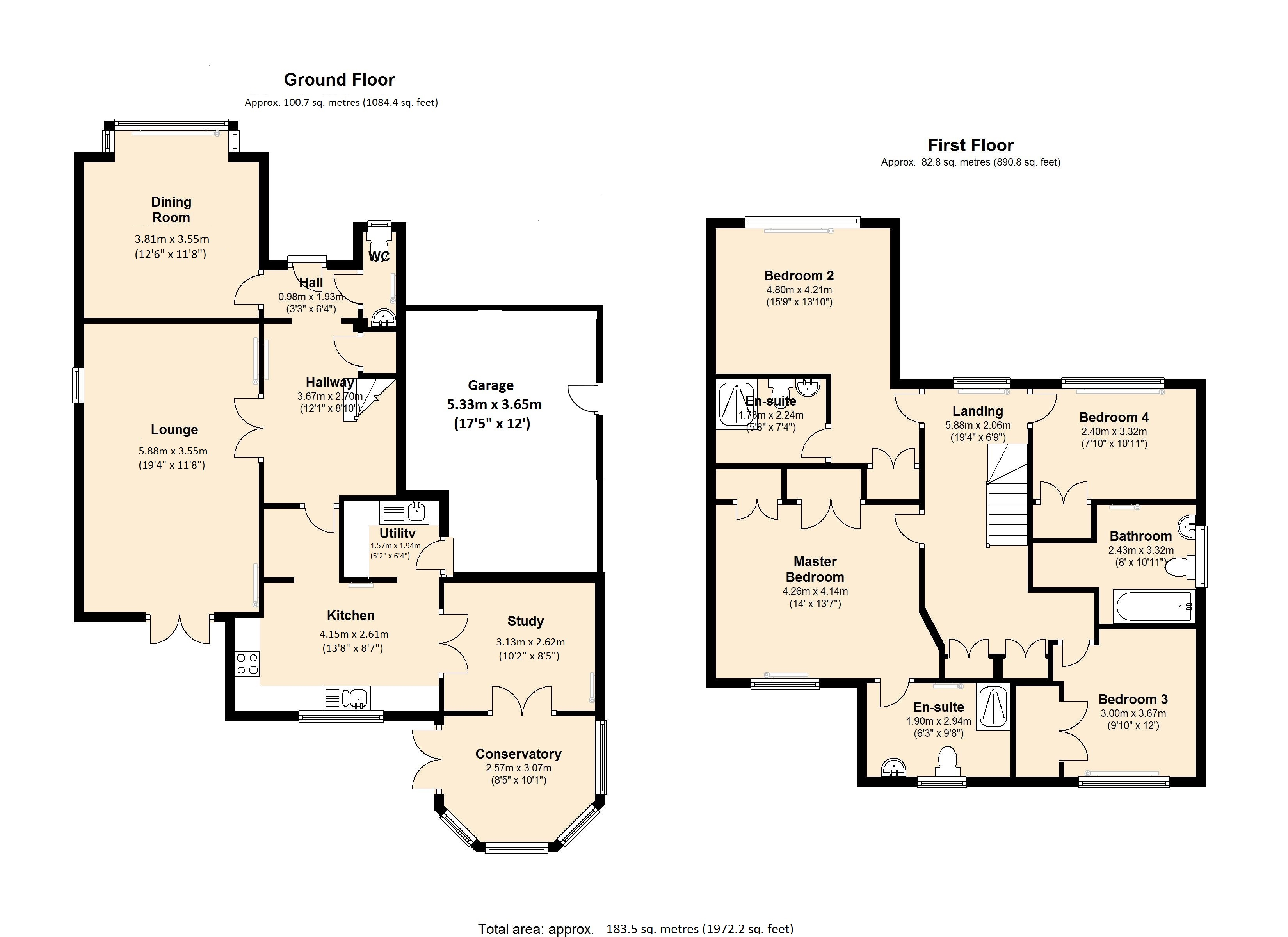 Griffins Close, London, N21 floor plan