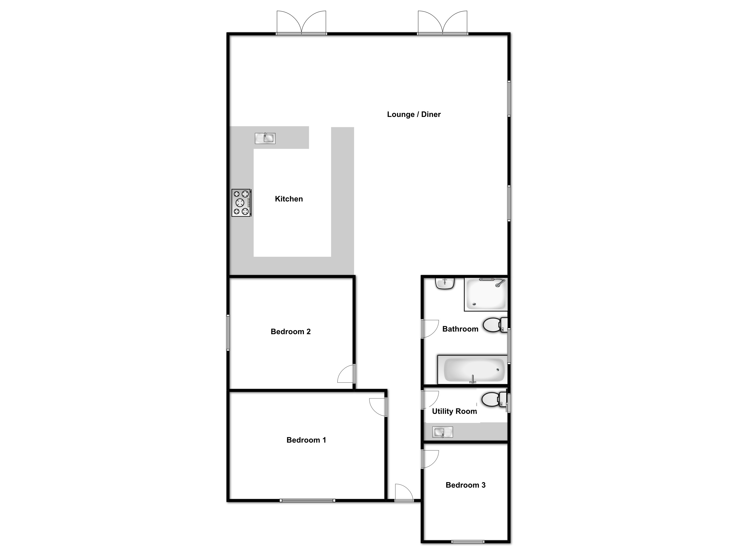 Spa Drive, St. Lawrence Bay, Southminster, Essex floor plan