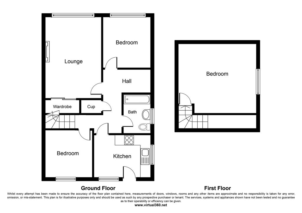 Hollywalk Avenue, Middlesbrough floor plan