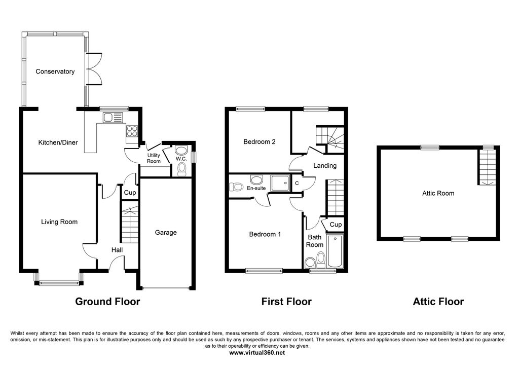 Worsley Paddock, Ulceby, DN39 floor plan